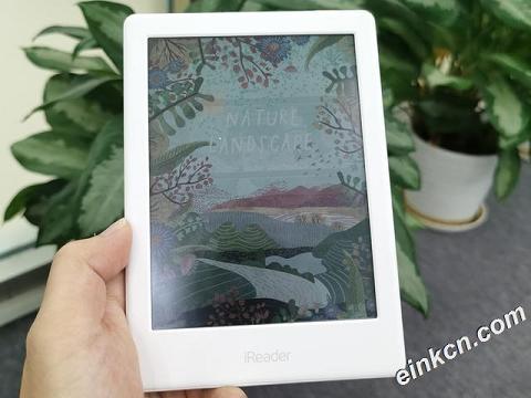 全球首款彩色墨水屏电子书阅读器上市,来自掌阅iReader C6,京东购买地址