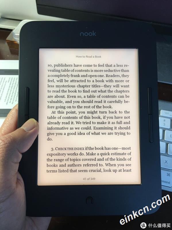 #原创新人#跑马观花:Barnes & Noble 巴诺书店 NOOK GLOWLIGHT 3 电纸书阅读器 伪开箱&浅评&杂谈