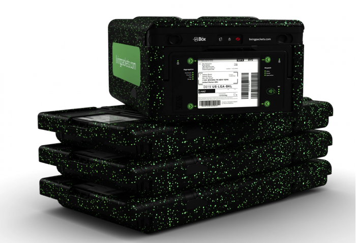 LivingPackets智能二代包裹The Box问世 内建电子墨水标签传感器摄像头扬声器和麦克风