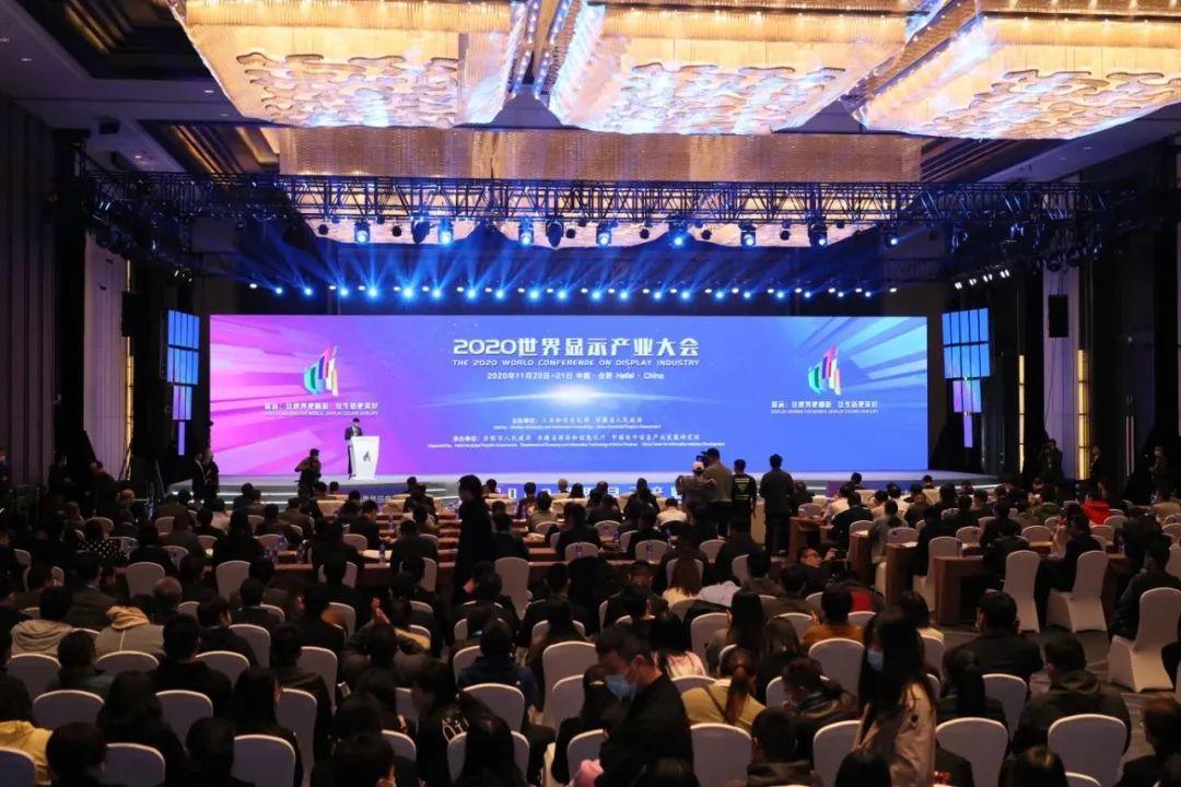 """显示大会 执行会长刘森华应邀参加2020世界显示产业大会并分享""""电子纸的市场及未来发展趋势"""""""