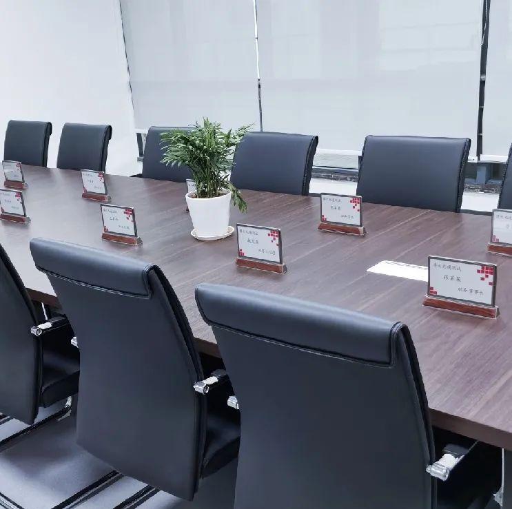 电子桌牌——会议桌上的时尚单品